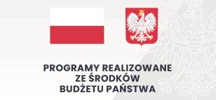Baner Programy realizowane ze środków budżetu państwa